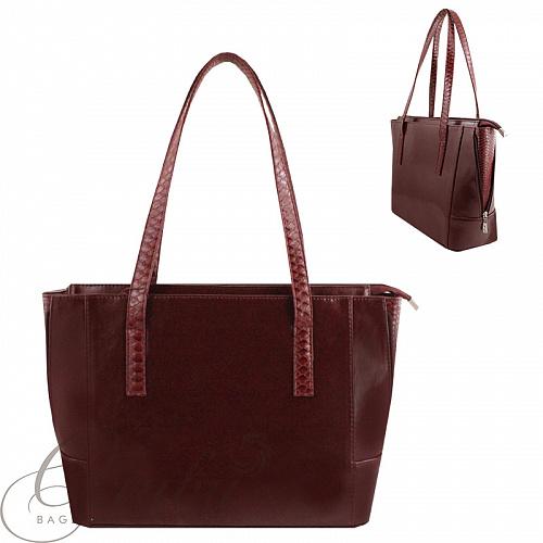 50e8ec4e0c4f сумка женская Olivi ол612 бордовый, черный цвет. Интернет магазин ...
